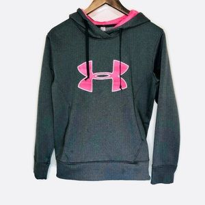 Under Armour women's pullover hoodie Small grey